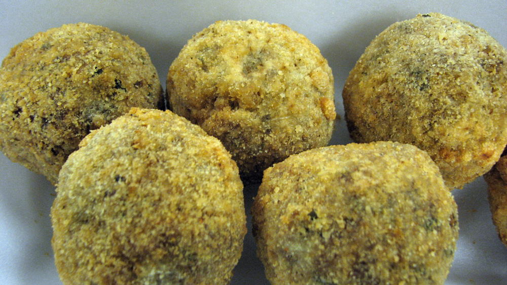 Boudin Balls By Joy Wooley Market Basket Smokehouse